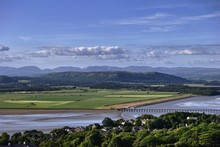 Arnside Viaduct And The Lake D...