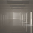 Empty Wide Corridor