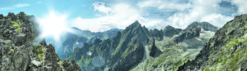 Fototapety, obrazy: mountain panorama