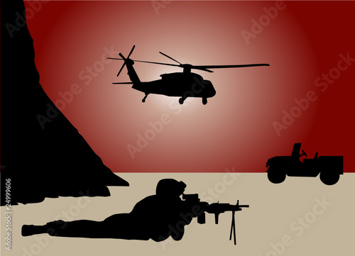Poster Militaire war