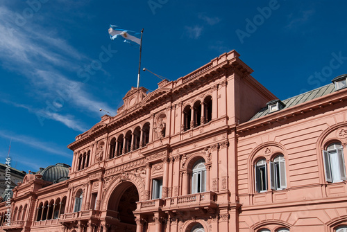 Keuken foto achterwand Buenos Aires Casa Rosada (Pink House) Presidential Palace of Argentina