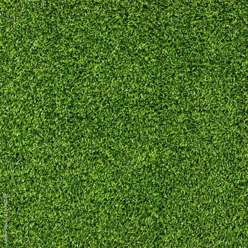 Tuinposter Gras Artificial Grass Field Top View Texture