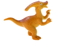 Toy Dinosaur On White