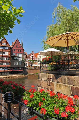 Fotografia, Obraz  Der historische Stintmarkt in Lüneburg