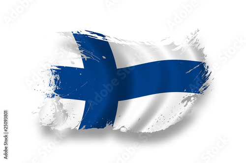 Photo Flag of Finland