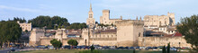 Panorama Avignon Südfrankreich