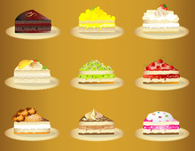 Sweet Cakes Variety Slices