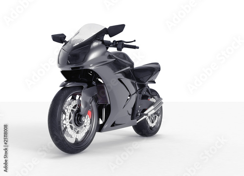 Poster Motorcycle Concept moto perspective view