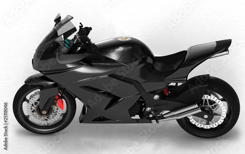 Poster Motorcycle Concept moto side view 2