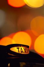 British London Black Taxi Cab ...
