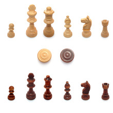 Isolated Chess Pieces