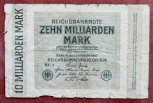 Hyper Inflation German Marks