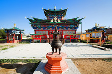 Temple Of The Pure Land In The...