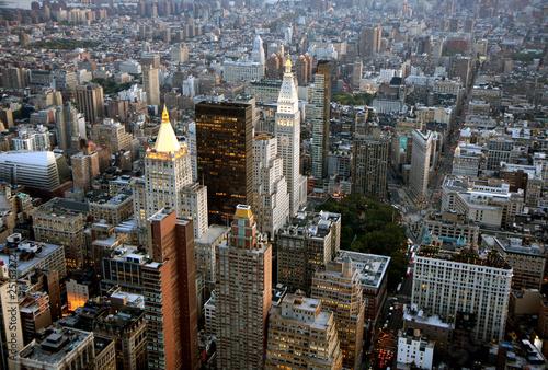 Fotografie, Obraz  Aerial view of New York