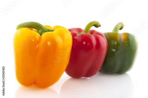 Valokuva Colorful paprika