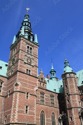 Photo  Frederiksborg castle, Renaissance palace in Denmark