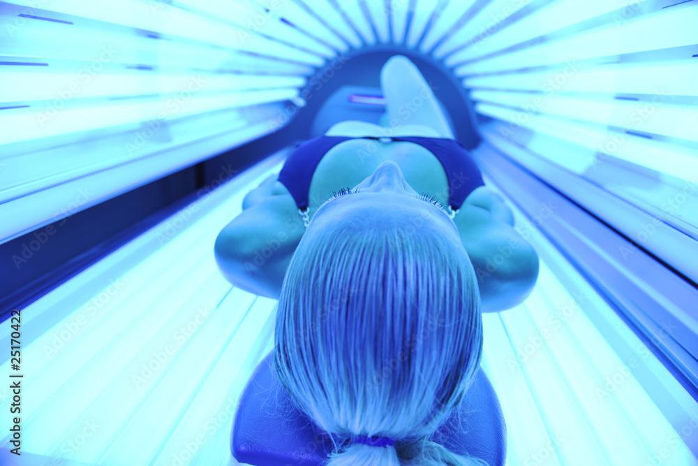 Fototapety, obrazy: solarium treatment