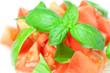 salad of tomato and basil