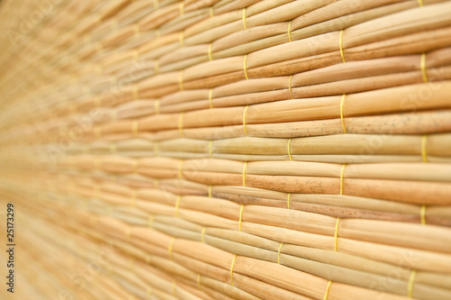Fototapeta  Weave pattern of reed mat