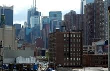 New York From Uss Intrepid