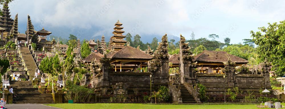Fototapeta Panorama of Mother Temple of Besakih in Bali