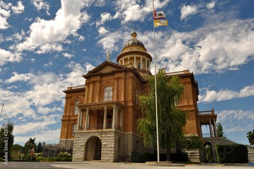 Auburn California United States Courthouse Canvas Print