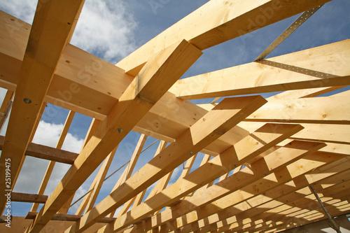 Obraz Dachstuhl 2 - fototapety do salonu