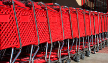 Stacked Shopping Carts