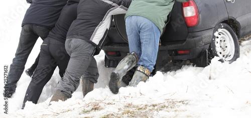 Fotografie, Obraz  Winter problem
