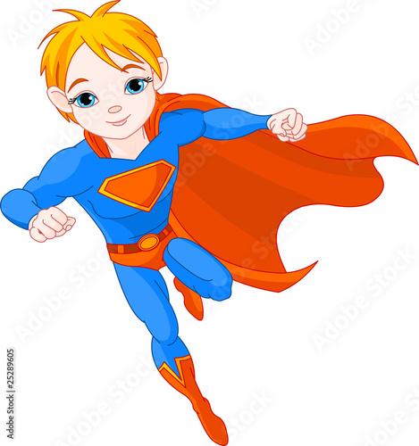 Staande foto Superheroes Super Boy