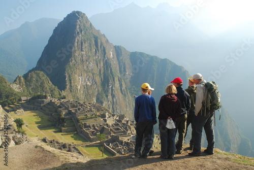 Poster South America Country Visite du Machu Picchu en famille
