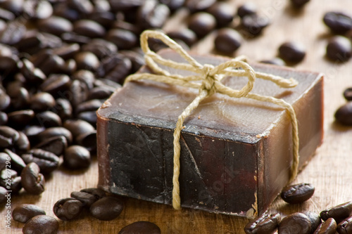 Photo Coffee scented soap