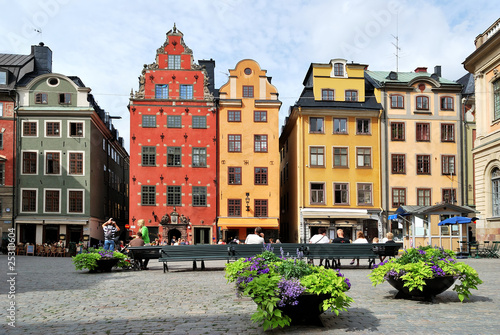 Photo  Stockholm. Heart of the Old Town