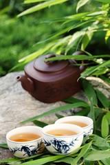 Panel Szklany Podświetlane Do herbaciarni Tea