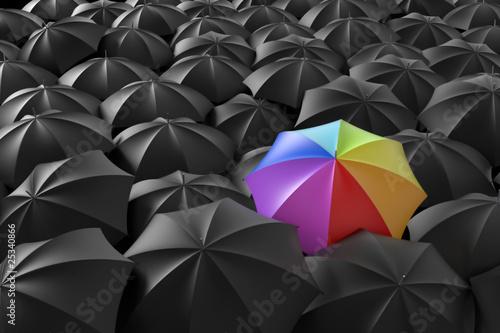 Fotografie, Obraz  L'arcobaleno