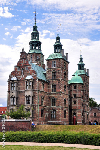 Photo  château de Rosenborg Copenhague