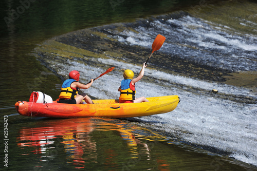 canoe kayak Fototapeta