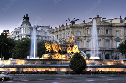 Foto op Aluminium Madrid Cibeles Fountain