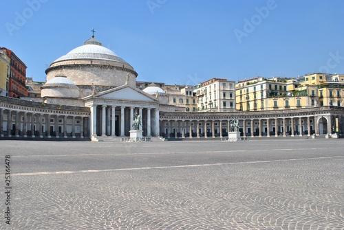 Fényképezés  Piazza del Plebiscito - Napoli - Italia