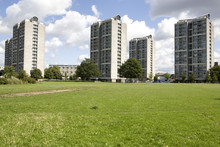 View Of Block Towers Near Kennigton Park, London.