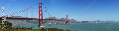 Fototapeta premium Most złotej bramy