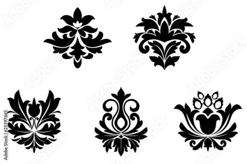 Fotomural  Flower patterns