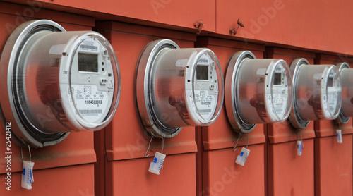 Fotografie, Obraz  Power meters