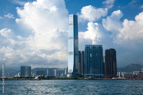 Foto op Canvas Hong-Kong Hongkong ICC