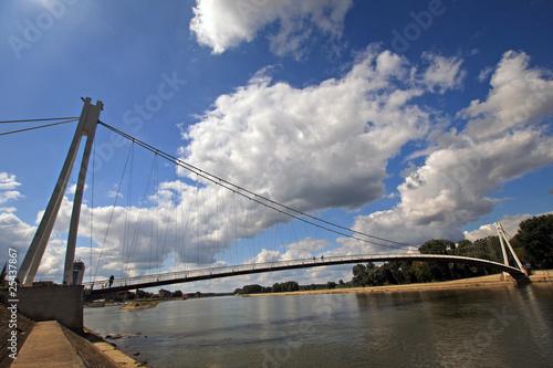Fotografie, Obraz  ponte al parco di Osijek
