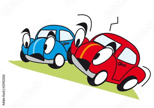 Foto op Canvas Cars voiture personnage jouet