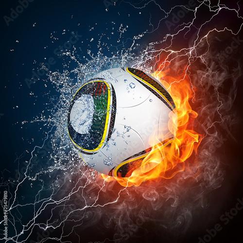 Obraz premium Piłka nożna