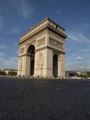 Fototapeta na wymiar Arco del Triunfo en Paris