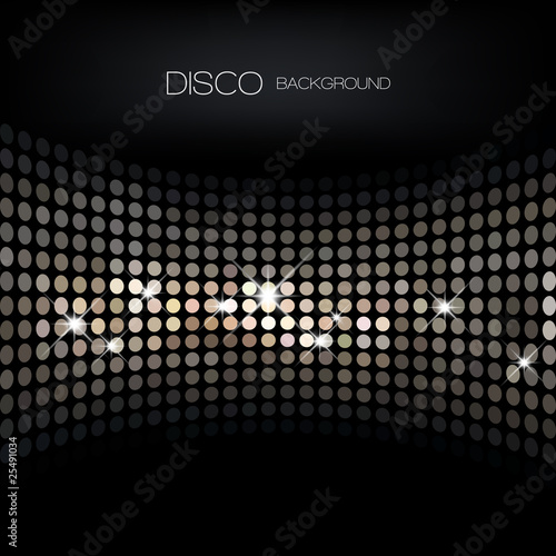 Fotografía  Disco background
