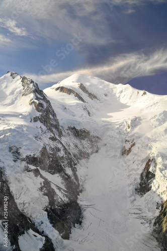 Fotobehang Bergen glacier d'argentiere